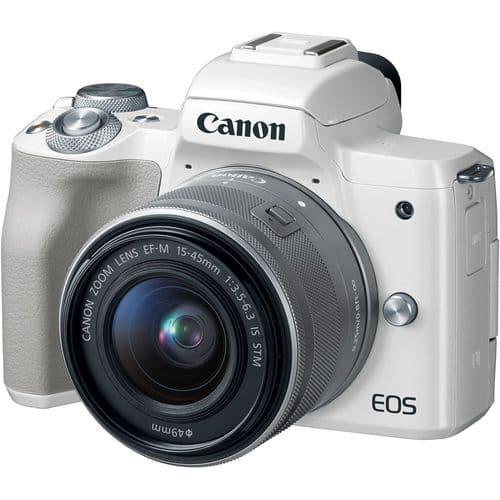 Canon EOS M50 Kit (15-45 STM) White