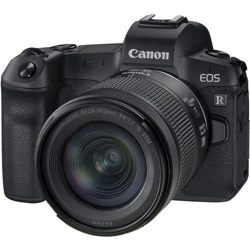 Canon EOS R Kit with RF 24-105 IS STM (NO adapter)