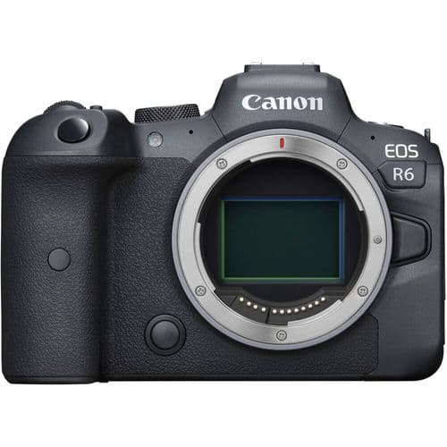 Canon EOS R6 Body (with adapter)