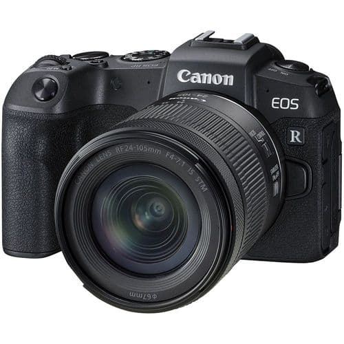 Canon EOS RP Kit (RF 24-105 IS STM) with adapter