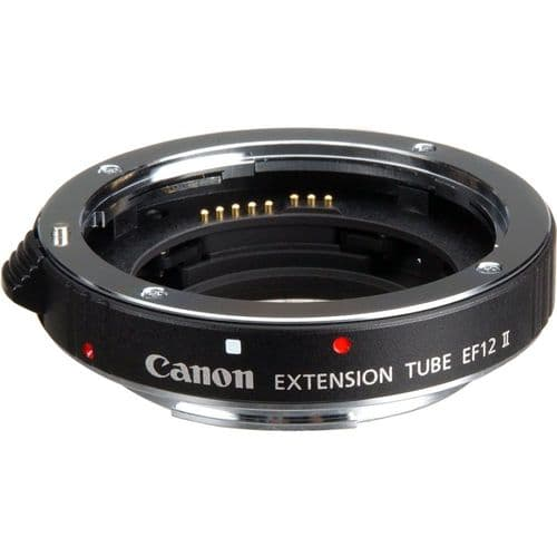 Canon Extension Tube EF 12 II,,digital camcorder,SLR DIGITAL CAMERA, digital camera, camcorder, camera, hd, lenses, CAMCODER ACCESSORIES, ACCESSORIES