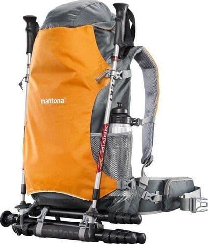 mantona ElementsPro 40 Outdoor Camera Backpack orange