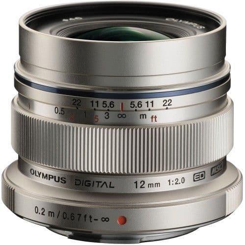 Olympus M.ZUIKO DIGITAL ED 12mm f2.0 SILVER