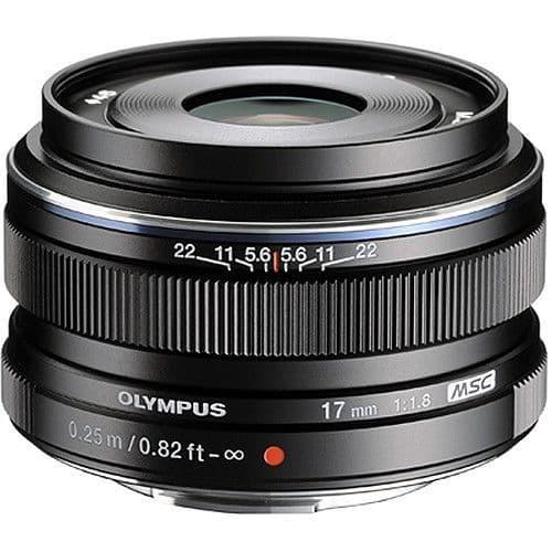 Olympus M.ZUIKO DIGITAL ED 17mm f1.8 Black