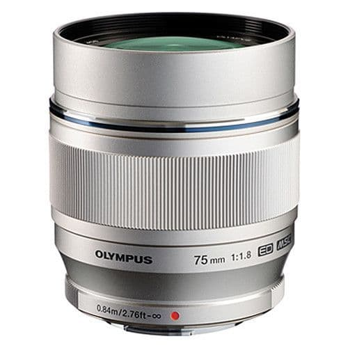 Olympus M.ZUIKO DIGITAL ED 75mm F1.8 - Silver