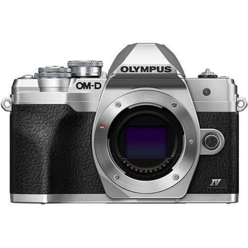 Olympus OM-D E-M10 IV Body Silver