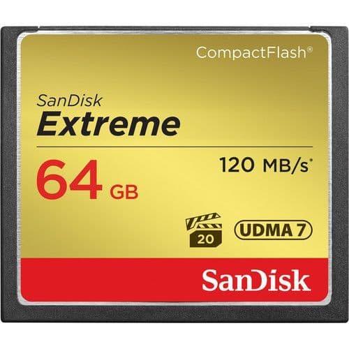 Sandisk 64GB Extreme 120MB/s CF