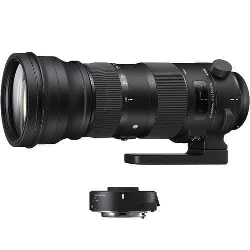 Sigma 150-600mm f/5-6.3 DG OS HSM Sports Lens and TC-1401 1.4x Teleconverter Kit   Canon Fit