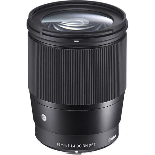 Sigma 16mm f/1.4 DC DN Contemporary Lens for MFT