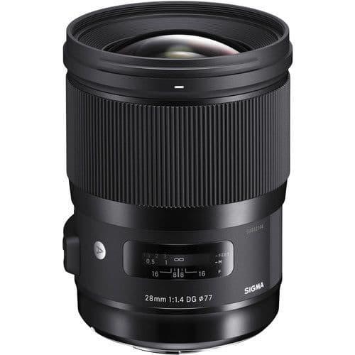 Sigma 28mm f1.4  DG HSM   Art Canon EF