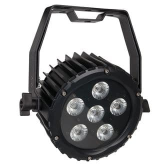 Showtec Power Spot 6 Q5 RBGWA DMX Flat Par | Lighting | Parcans Pinspots & Theatre Spots | Showtec | Lighthouse Audiovisual UK