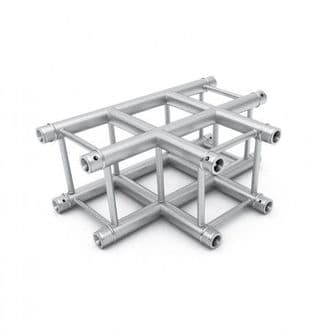 Alustage TUV Lighting Truss Alu F34 PL Truss corner 3 Way T Piece