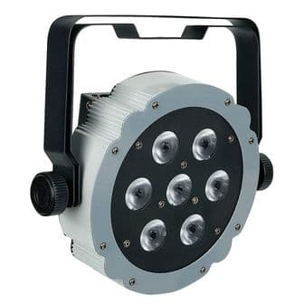Showtec Compact Par 7 Tri DJ Club LED Flat Par Spotlight | Lighting | Parcans Pinspots & Theatre Spots | Showtec | Lighthouse Audiovisual UK