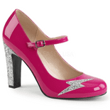 Décolleté Con Tacco Medio | Pink Label Shoes | 5 Colori | Queen-02+