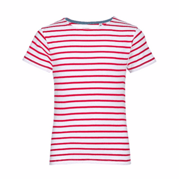 01400 SOL'S Kids Miles Stripe T-Shirt