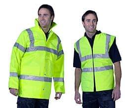 4 In 1 Traffic Jacket And Bodywarmer