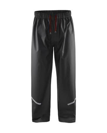 Blaklader 1301 Waterproof Rain Trousers (Black)