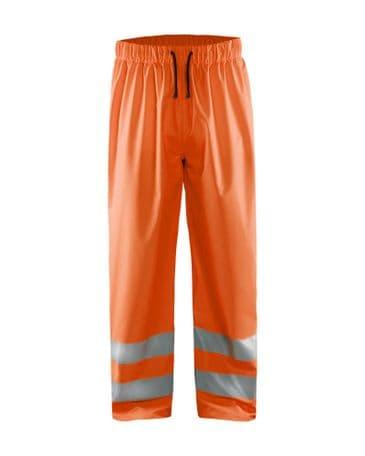 Blaklader 1384 High Vis Rain Trousers (Orange)