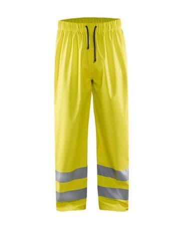 Blaklader 1384 High Vis Rain Trousers (yellow)