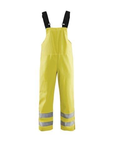 Blaklader 1386 Rain Bib Trousers, Heavy Weight Extreme (Yellow)