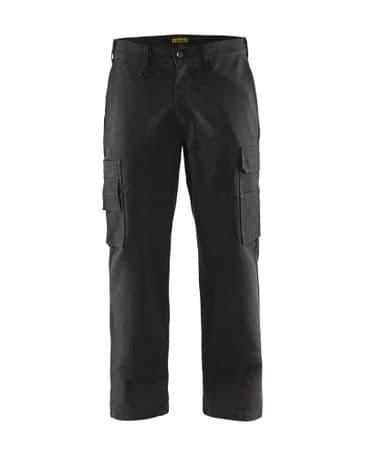 Blaklader 1400 Cargo Trousers 100% Cotton (Black)