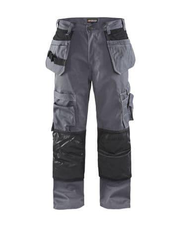 Blaklader 1505 Floorlayer Trousers (Grey/Black)