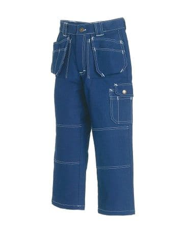 Blaklader 1544 Childrens Trousers (Navy Blue)