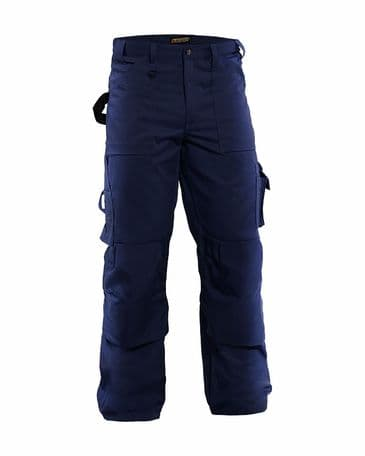 Blaklader 1570  65% Polyester 35% Cotton Trousers (Navy Blue)