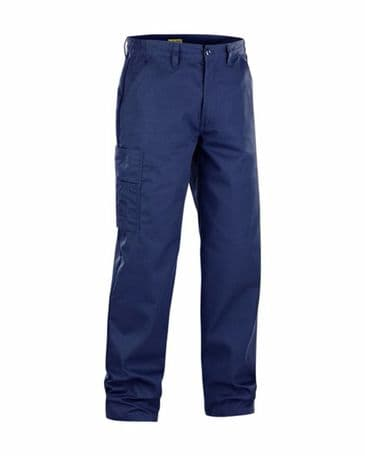 Blaklader 1725 Trousers 100% Cotton (Navy Blue)