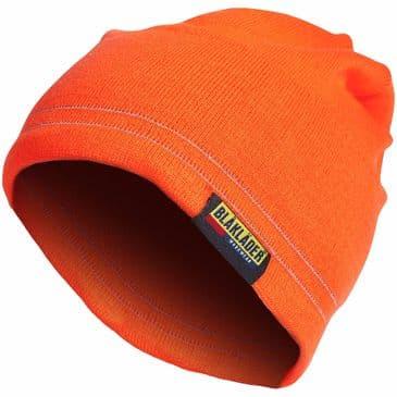 Blaklader 2007 Hi vis Reflective Beanie (Orange)