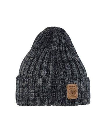 Blaklader 2199 Rib-Knit Winter Hat (Black Melange)