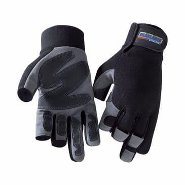Blaklader 2233 Mechanics Glove (Black/Grey)