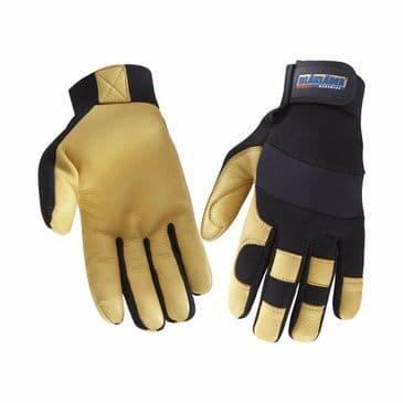 Blaklader 2239 Craftsman Lined Glove (Black/Yellow)