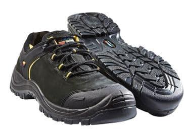 Blaklader 2317 Wide Fit Safety Shoe (Black/Dark Grey)