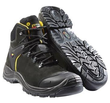 Blaklader 2318 Wide Fit Safety Boot (Black/Dark Grey)