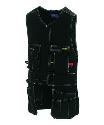 Blaklader 3105 100% Cotton Waistcoat (Black)