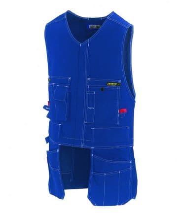 Blaklader 3105 100% Cotton Waistcoat (Navy Blue)