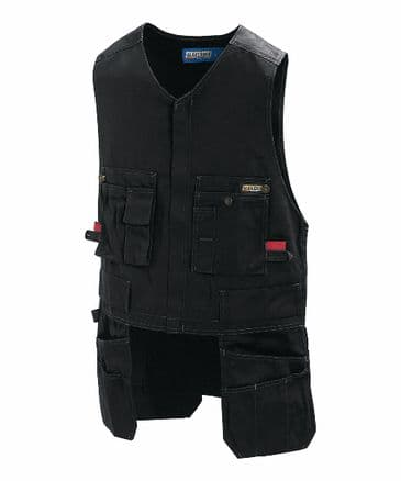 Blaklader 3105 Waistcoat 65% Polyester/35% Cotton (Black)