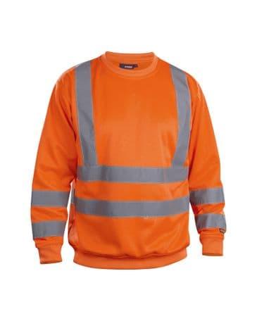 Blaklader 3341 Sweatshirt High Vis (Orange)