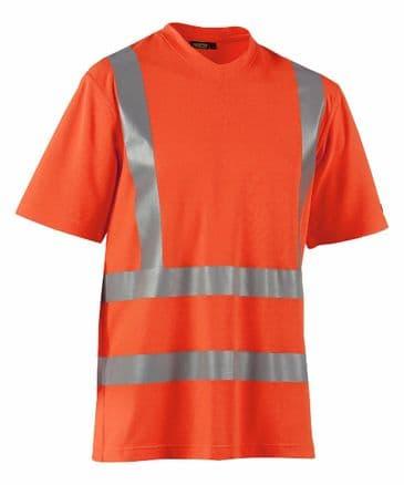 Blaklader 3380 High Visibility T-Shirt (Orange)
