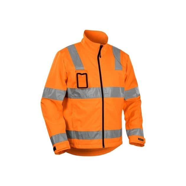 Blaklader Workwear | 4838 High Vis Softshell | High Visibility
