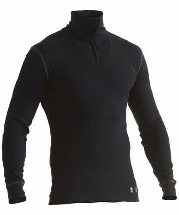Blaklader 4898 Multinorm Basic Zip Neck (Black)