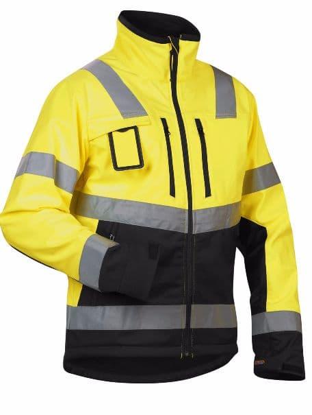 Blaklader Workwear | 4900 High Vis Softshell | High Visibility