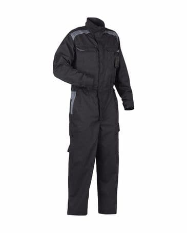 Blaklader 6054 Industry Coverall 65% Polyester 35% Cotton (Black/Grey)