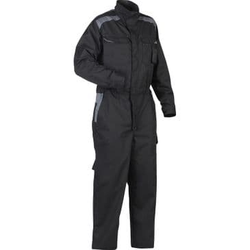 Blaklader 6054 Industry Overall Black 100% Cotton (Black/Grey)