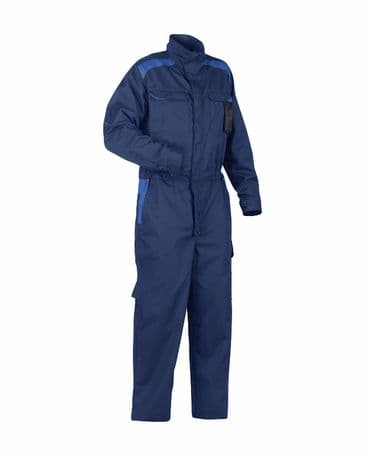 Blaklader 6054 Industry Overall Black 100% Cotton (Navy Blue/Royal Blue)