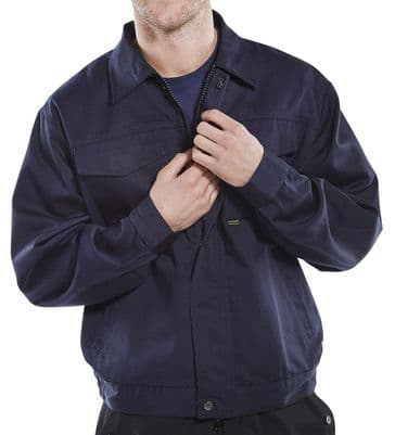Click Drivers Jacket - Navy