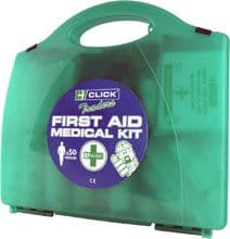 Click Traders 50 Person First Aid Kit