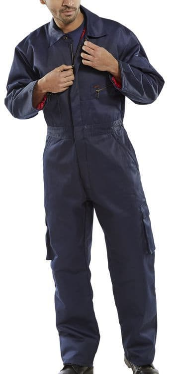 Click Workwear Quilted Boilersuit