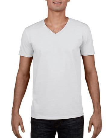 Gildan Softstyle V-Neck Tshirt GD010
